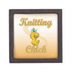 Knitting Chick Premium Jewelry Box