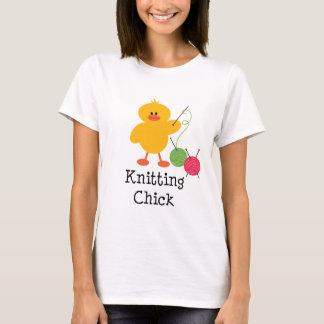 Knitting Chick T shirt