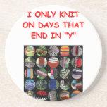 knitting coasters