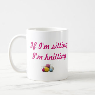 knitting coffee mug