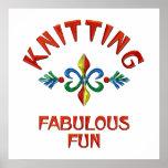 Knitting Fabulous Fun Print