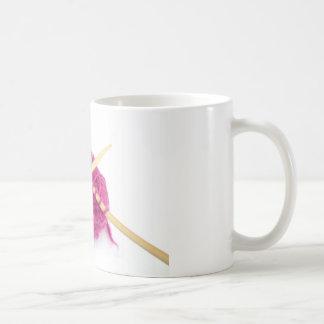 knitting fanatic coffee mug