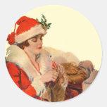 Knitting for Christmas Sticker