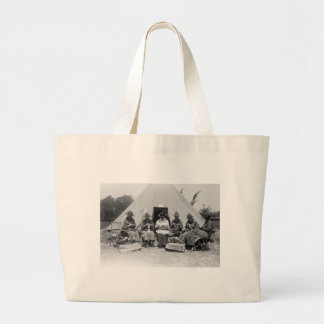 Knitting for the Cause: 1916 Large Tote Bag