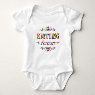 KNITTING FOREVER BABY BODYSUIT