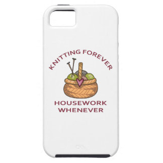 KNITTING FOREVER iPhone 5 COVER