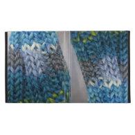 knitting fun iPad folio case