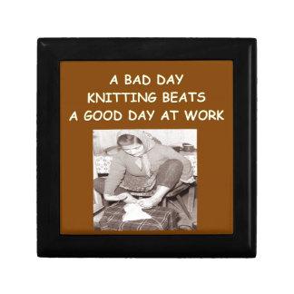 knitting trinket box