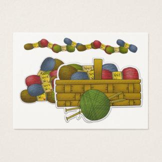 Knitting Gift Enclosure / Crafter Card