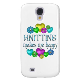 Knitting Happiness Galaxy S4 Cover