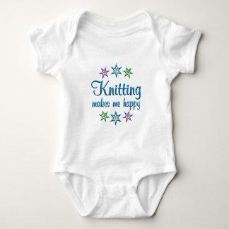 Knitting Happy Baby Bodysuit