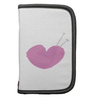 Knitting Heart Folio Planners