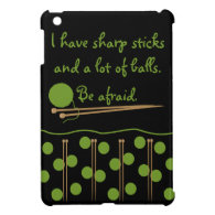 Knitting Humor iPad Mini Case