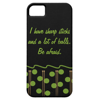 Knitting Humor iPhone 5 Case