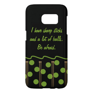 Knitting Humor Samsung Galaxy S7 Case