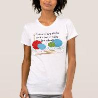 Knitting Humor T-shirt
