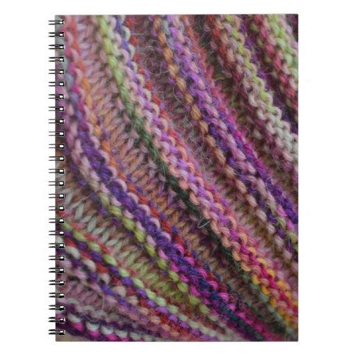 Knitting Journal App : Knitting impunity spiral notebook zazzle