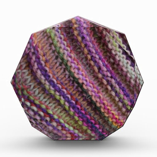 Knitting in Sunset Colours Award