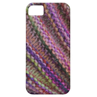 Knitting in Sunset Colours iPhone 5 Cover