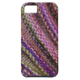 Knitting in Sunset Colours iPhone SE/5/5s Case