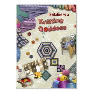 Knitting Invitation
