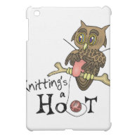 Knitting iPad Mini Cover