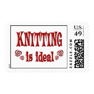 Knitting is Ideal Stamps