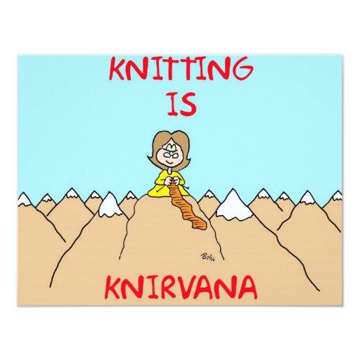 knitting is knirvana guru card