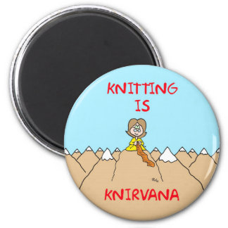 knitting is knirvana guru magnet