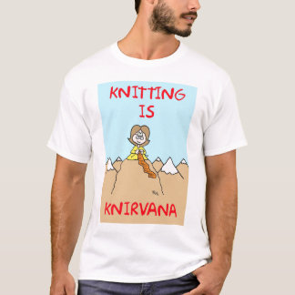 knitting is knirvana T-Shirt