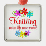 Knitting is Special Christmas Tree Ornament