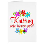Knitting is Special Greeting Card