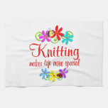 Knitting is Special Hand Towel