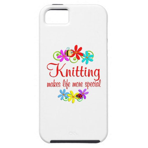 Knitting is Special iPhone 5 Cases