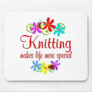 Knitting is Special Mouse Pad