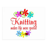 Knitting is Special Postcard