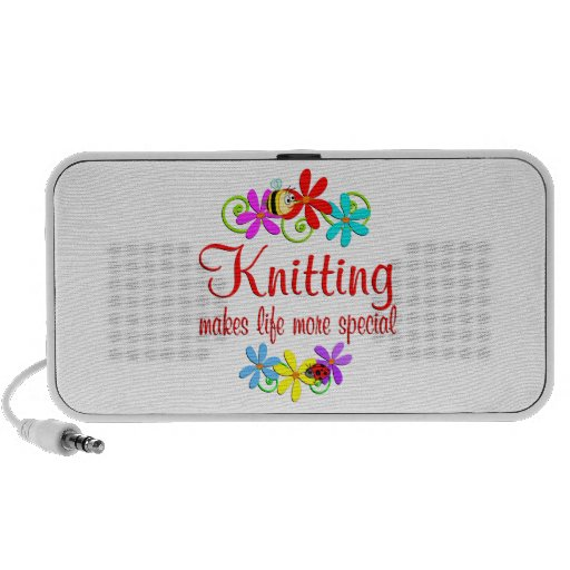 Knitting is Special Travelling Speaker