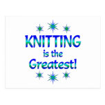 Knitting is the Greatest Postcard