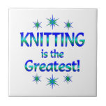 Knitting is the Greatest Tiles
