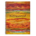 knitting journal note books