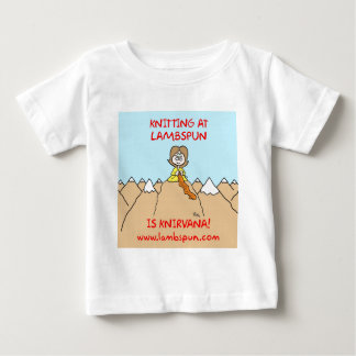 knitting knirvana lambspun baby T-Shirt