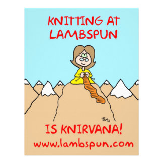 knitting knirvana lambspun personalized letterhead