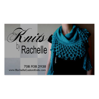 Knitting Knit Crochet Handmade Crafts Business Card Template
