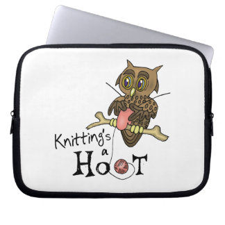 Knitting Laptop Sleeve