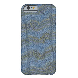 Knitting leaf lace sock for iPhone Barely There iPhone 6 Case