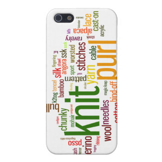 Knitting Lexicon - words for knitters! Knit On! Cover For iPhone SE/5/5s