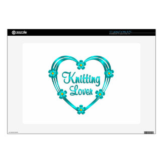 "Knitting Lover 15"" Laptop Skin"