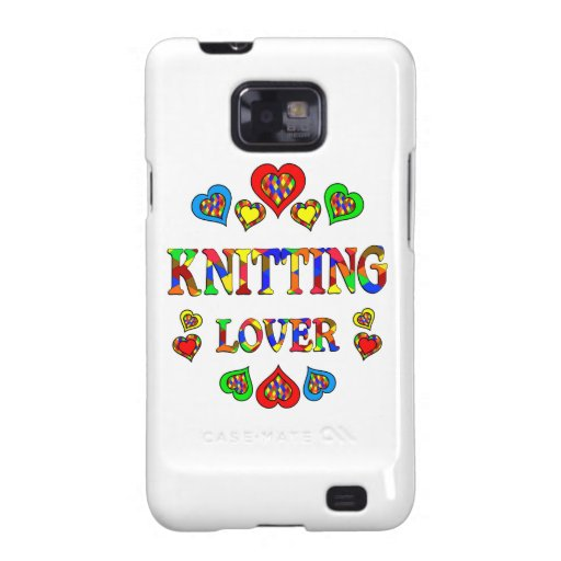 Knitting Lover Galaxy S2 Cover