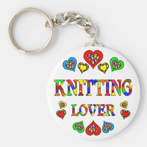 Knitting Lover Key Chain