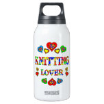 Knitting Lover 10 Oz Insulated SIGG Thermos Water Bottle